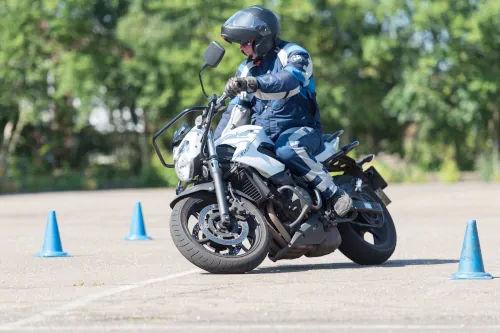 Motorrijbewijspoint Oss motor rijtest